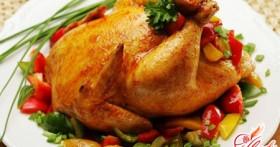 Фаршируем и запекаем курицу самостоятельно