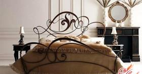 Кованые кровати — утонченная романтика в интерьере спальни