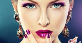Как сделать правильный макияж для больших глаз?