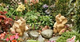 Фигурки для сада своими руками. Как сказку сделать былью?