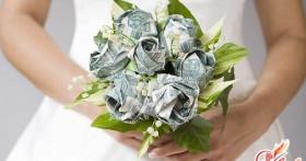 Цветы из денег своими руками: букет роз