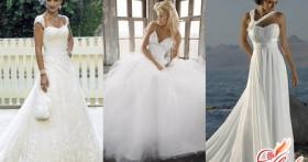 Выбор фасона свадебного платья