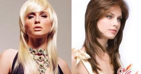 Объемные стрижки для обладательниц длинных волос