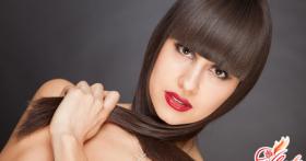 Как отрастить чёлку: уход за волосами и способы их укладки
