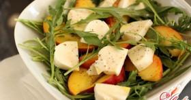 Варианты приготовления салатов с сыром
