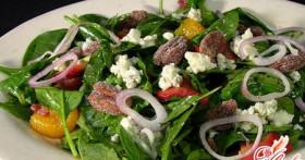 Салат из шпината. Многообразие вкуса