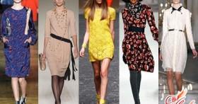 Повседневные платья 2016: фото, модные коллекции