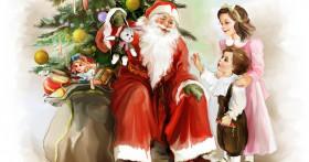 Стихи для Деда Мороза: детям 7-9 лет, веселые и смешные