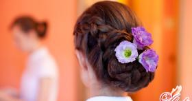 Свадебные прически на длинные волосы — будьте самой красивой невестой!
