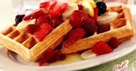 Мягкие вафли для любителей сладостей