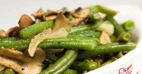 Готовим здоровую еду: салат из зеленой фасоли