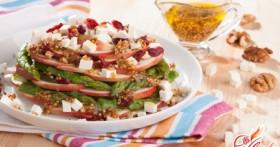 Салат с яблоками: полезное блюдо для всех