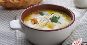 Французская кухня: сырные супы с курицей