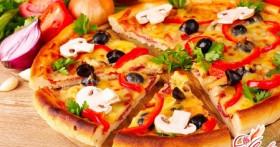 Пицца с грибами — это вкусно