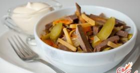 Пражский салат — рецепт чешской кухни