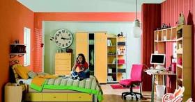 Современный интерьер комнаты подростка