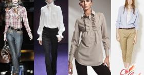 Женская рубашка: виды и варианты сочетаний