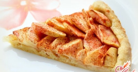 Рецепты яблочных пирогов со сметаной