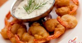Необычные блюда из королевских креветок
