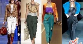 Модные брюки галифе — 2016