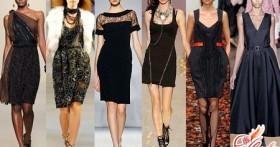 С чем носить черное платье? Путь от скорби до восхищения