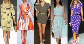 Фасоны летних платьев 2016