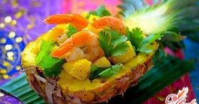 Салат с креветками и ананасом: вкусные рецепты для всех