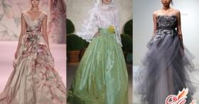 Цветные свадебные платья 2016, чтобы заявить о себе громко!