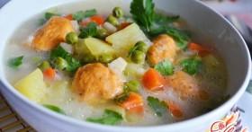 Такие разные рецепты супа с клецками