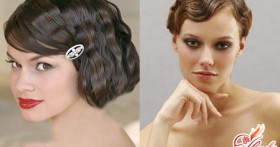Свадебные прически на короткие волосы: варианты для самой модной невесты