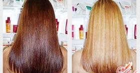 Способы и средства, чем сделать смывку волос в домашних условиях