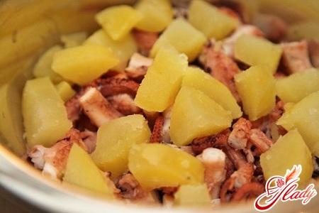 картофельный салат американский