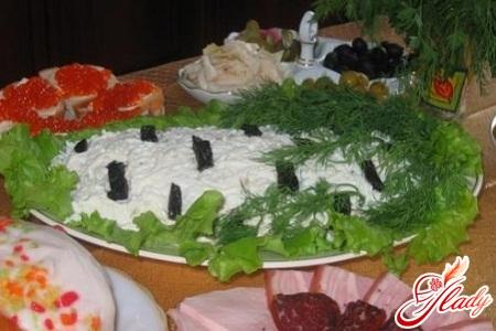 береза белая салат