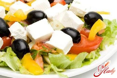 салаты рецепты овощные