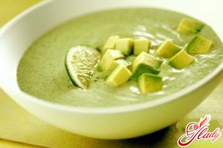 суп с цукини