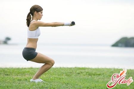 зарядка для похудения ног