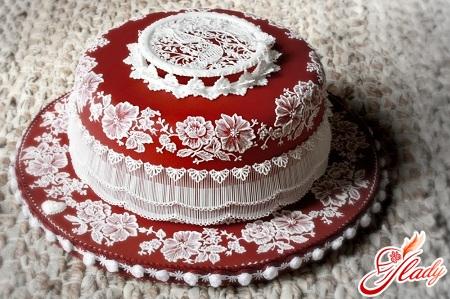 Как в домашних условиях украсить торт на свадьбу своими руками