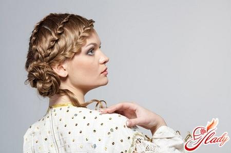 Плетение кос с нитками: пироги с косами, косичка кости дзю фото.