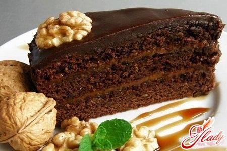торт прага с белым кремом рецепт с фото
