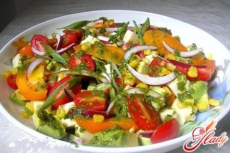 салат летний рецепт с фото