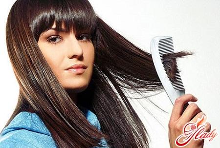 секущиеся волосы по всей длине
