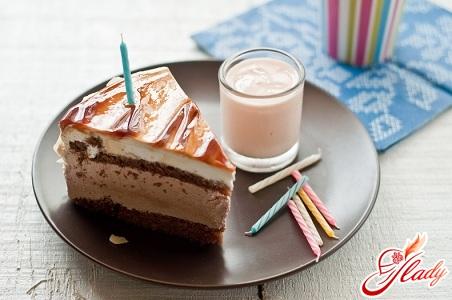рецепт торт бисквитный