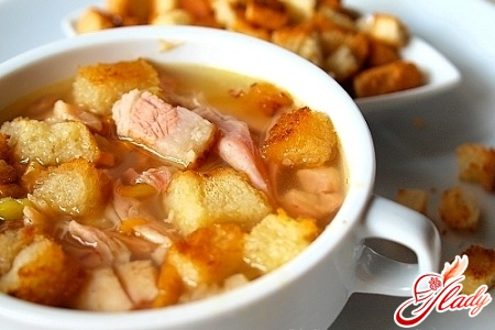 як зварити гороховий суп