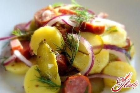 салат картофельный немецкий