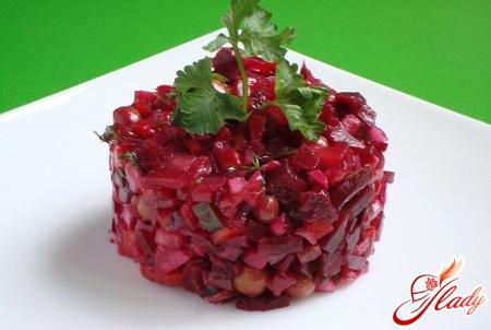 винегрет из свежей капусты рецепт с фото