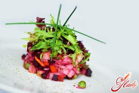 Традиционный салат «Винегрет».