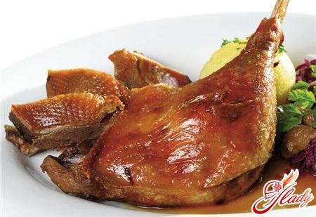 Рецепты по приготовлению гуся