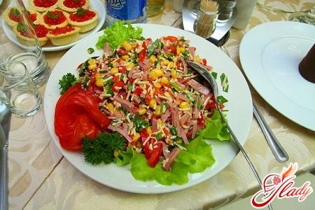 рецепты салатов с оливковым маслом