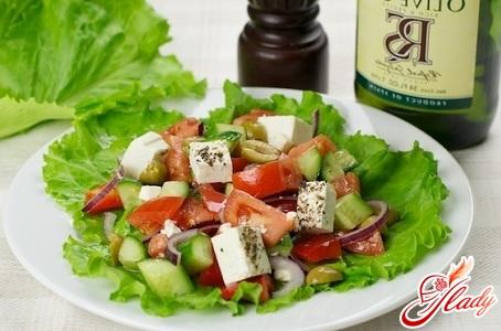 Рецепты салатов со свежих огурцов 74