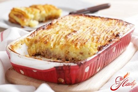 рецепт запеканки картофельной